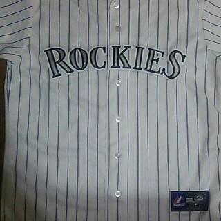 マジェスティック(Majestic)のコロラドロッキーズ・アレナド・レプリカユニフォーム・MLB・メジャーリーグ(応援グッズ)