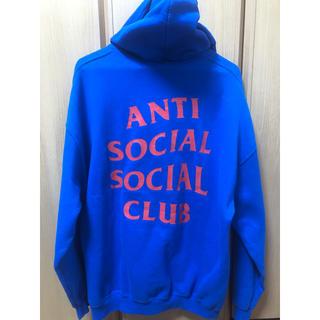 アンチ(ANTI)のANTI SOCIAL SOCIAL CLUB HOODIE パーカー XL(パーカー)