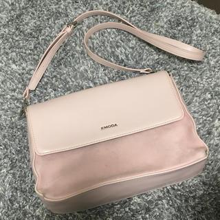 エモダ(EMODA)のEMODA エモダ ショルダーバッグ 鞄 バック ピンク(ショルダーバッグ)
