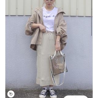 ローリーズファーム(LOWRYS FARM)のヘンケイワッフルカットスカート(ひざ丈スカート)