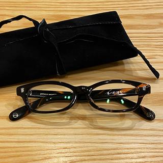 ソフ(SOPH)の眼鏡 泰八郎謹製 ✖️ uniform experiment(サングラス/メガネ)