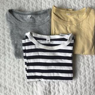 MUJI (無印良品) - 無印良品 トップス長袖 80 3枚セット