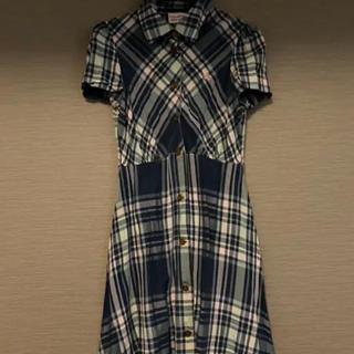 ヴィヴィアンウエストウッド(Vivienne Westwood)の再値下げヴィヴィアンウェストウッド  ワンピース(ミディアムドレス)