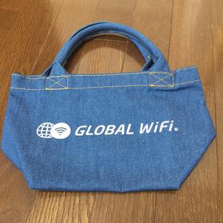 グローバルWi-fiデニムミニトートバック(トートバッグ)