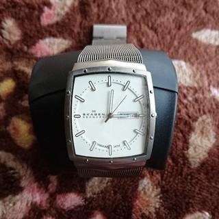 スカーゲン(SKAGEN)のスカーゲン メンズ  電池交換済み (腕時計(アナログ))
