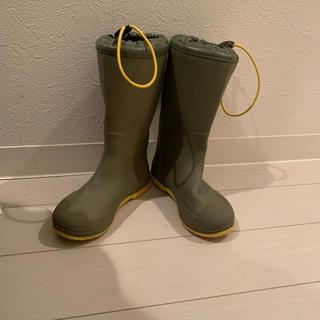 キャサリンコテージ(Catherine Cottage)のキャサリンコテージ キッズレインブーツ 18cm カーキ(長靴/レインシューズ)