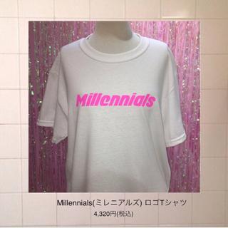 ハニーミーハニー(Honey mi Honey)の❤︎THE PINK CLOSET tokyo❤︎ Tシャツ白(Tシャツ(半袖/袖なし))