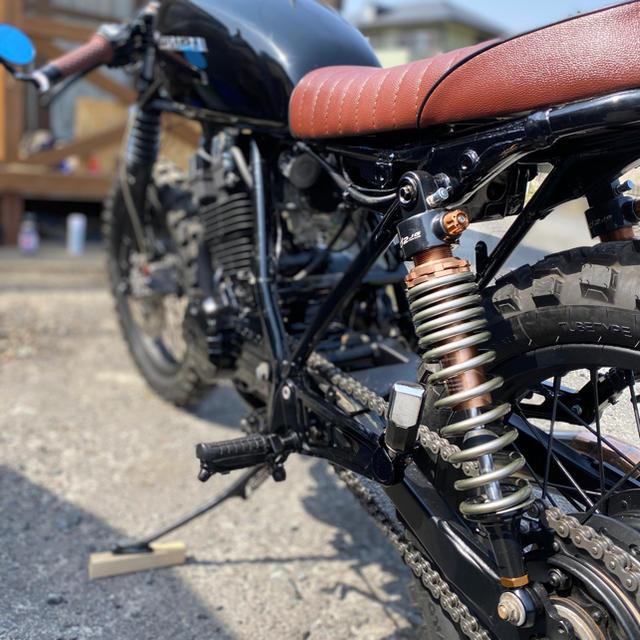 ホンダ(ホンダ)の至高の二品目 レストア完了&フルカスタム HONDA GB250  クラブマン  自動車/バイクのバイク(車体)の商品写真