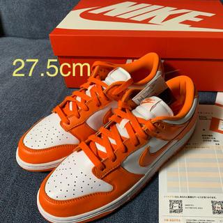 ナイキ(NIKE)のnike  dunk low sp orange blaze 27.5cm(スニーカー)