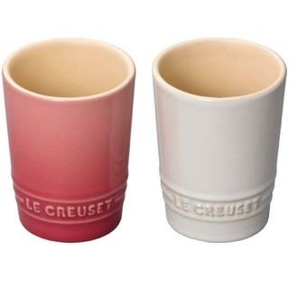 LE CREUSET - コップ♡耐熱ペアショートタンブラー♡ル・クルーゼ♡新品未使用♡