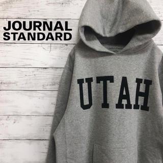 JOURNAL STANDARD - 【大人気】JOURNAL STANDARD カレッジロゴ 肉厚 パーカー M