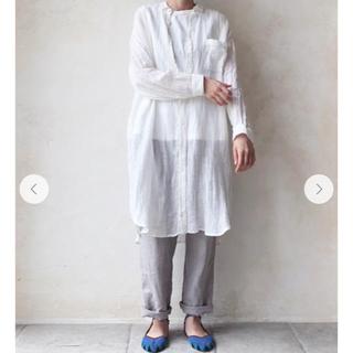 ネストローブ(nest Robe)のnest Robe リネンボイルロングシャツ limited item(シャツ/ブラウス(長袖/七分))