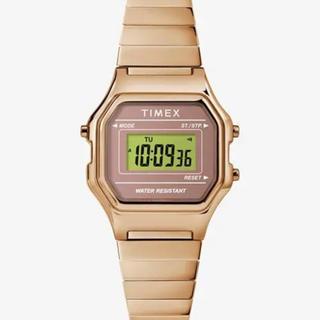 タイメックス(TIMEX)の[タイメックス]TIMEX クラシックデジタル オリジナル ゴールド(腕時計(デジタル))