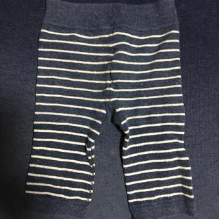 ムジルシリョウヒン(MUJI (無印良品))のボーダーズボン 80サイズ(パンツ)