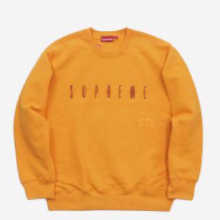 シュプリーム(Supreme)のsupreme fuck you crewneck orange(トレーナー/スウェット)