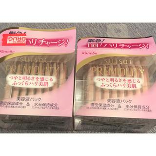 カネボウ(Kanebo)のsuisai プレミオリティ ナイトビューティヴェール 1ml 16包 2箱(パック/フェイスマスク)