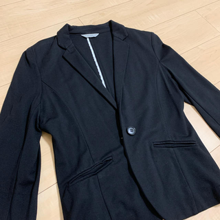 しまむら - 【七分袖】レディース黒ジャケット Mサイズ