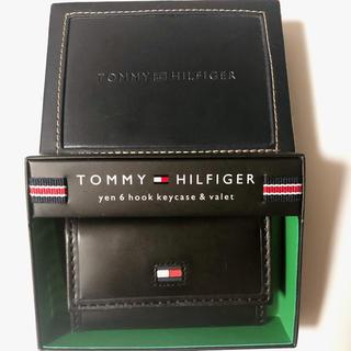 トミーヒルフィガー(TOMMY HILFIGER)のトミーヒルフィガー キーケース ブラック 6連フック(キーケース)