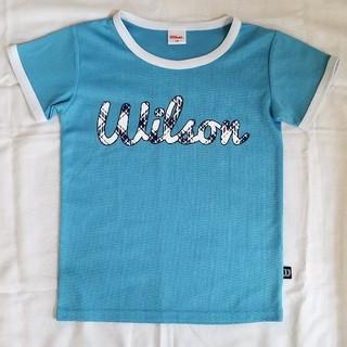 ウィルソン(wilson)の【ウィルソン】🎾半袖Tシャツ👧ガールズ140(Tシャツ/カットソー)