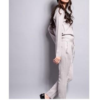 ダブルスタンダードクロージング(DOUBLE STANDARD CLOTHING)の新品 Sov.  ミラノリブオールインワン(オールインワン)