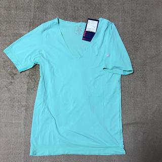 アシックス(asics)の【ASICS】W'SシームレスクールVネックトップ(Tシャツ(半袖/袖なし))