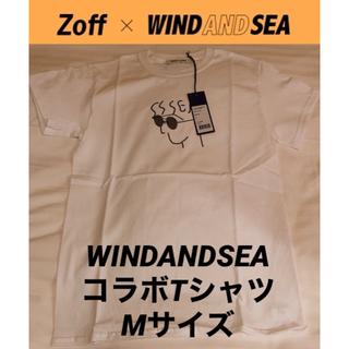 ゾフ(Zoff)のwindandsea ウィンダンシー Zoff コラボTシャツ 数量・店舗限定(Tシャツ/カットソー(半袖/袖なし))