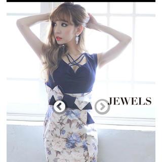 ジュエルズ(JEWELS)のキャバドレス 新品未使用 タグ無し XL(ナイトドレス)