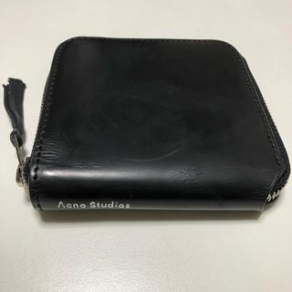 アクネ(ACNE)のアクネ ストゥディオズ Acne Studios 折り財布 コンパクト財布 黒(折り財布)