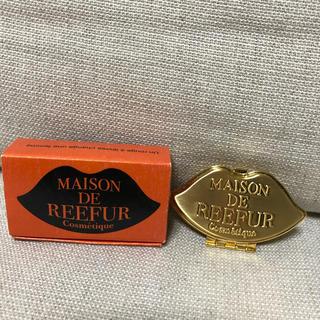 メゾンドリーファー(Maison de Reefur)の【未使用】メゾンドリーファー リップ形 リップケース(口紅)
