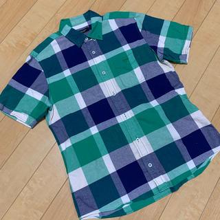 ブラックレーベルクレストブリッジ(BLACK LABEL CRESTBRIDGE)のクレストブリッジ ブラックレーベル半袖チェックシャツ(シャツ)