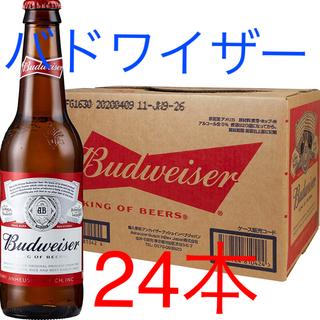 サッポロ(サッポロ)の早い者勝ち‼️バドワイザー 瓶ビール 355ml (1ケース24本入り)(ビール)