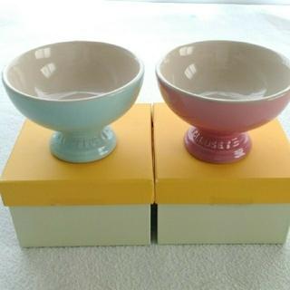 ルクルーゼ(LE CREUSET)のル・クルーゼ アイスクリームカップ 2個セット(食器)