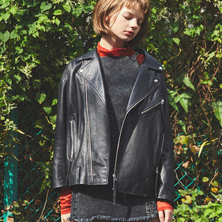 ALEXIA STAM - juemi Big Silhouette Moto Jacket