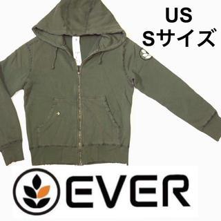 エバー(ever)の【S-Mサイズ】LAで購入 レアブランド EVER エバー(パーカー)