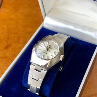 ラドー(RADO)のRADO  LIMMAT レディース自動巻/手巻き腕時計 稼動品 箱付き(腕時計)