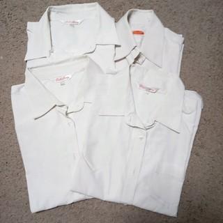 ニッセン(ニッセン)の中学生長袖ワイシャツ 4枚組(ブラウス)