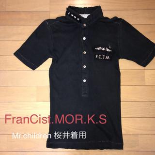フランシストモークス(FranCisT_MOR.K.S.)のFranCist.MOR.K.S  フランシストモーク スワロスキーT(Tシャツ/カットソー(七分/長袖))