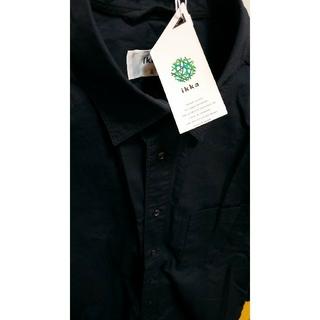 ikka - 黒シャツ