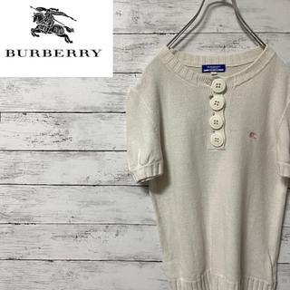 バーバリーブラックレーベル(BURBERRY BLACK LABEL)のバーバリーBurberry ニット セーター 可愛い‼️(ニット/セーター)
