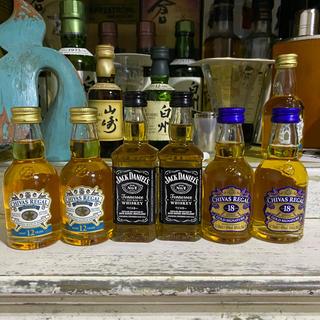サントリー(サントリー)の【飲み比べセット】シーバスリーガル18年・シーバスリーガル12ミズナラ・ジャック(ウイスキー)