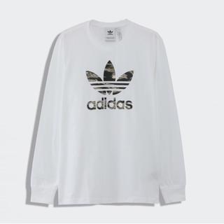adidas - 新品未開封 タグ付き アディダス  adidas 長袖 白 迷彩