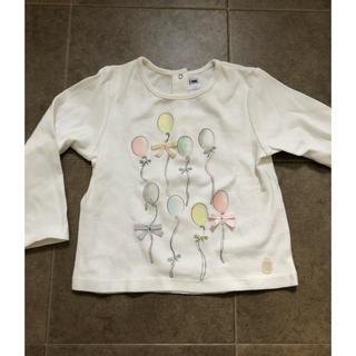 ベビーディオール(baby Dior)のbaby Dior 風船カットソー 80(シャツ/カットソー)