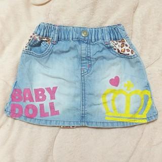 ベビードール(BABYDOLL)のBABYDOLL♡110♡デニムスカート(スカート)