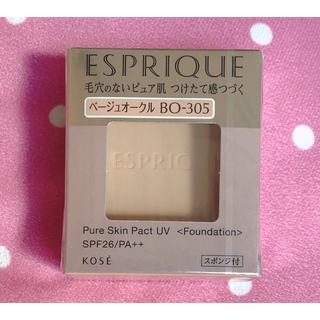 ESPRIQUE - エスプリーク ピュア スキン パクト UV BO-305