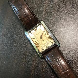 エンポリオアルマーニ(Emporio Armani)のエンポリオアルマーニ スクエア腕時計(腕時計(アナログ))