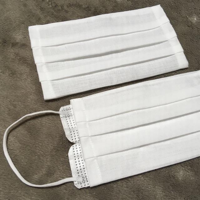不織布マスク - ハンドメイド ますくカバー 2点の通販