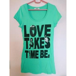 スパイラルガール(SPIRAL GIRL)のスパイラルガール チュニックTシャツ(Tシャツ(半袖/袖なし))