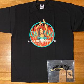 テンダーロイン(TENDERLOIN)の未使用! TENDERLOIN TEE WH 半袖 Tシャツ ブラック 黒 XL(Tシャツ/カットソー(半袖/袖なし))