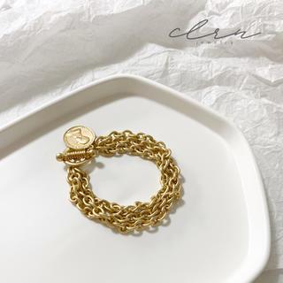 フィリップオーディベール(Philippe Audibert)の ゴールド コイン チェーン ブレスレット (ブレスレット/バングル)