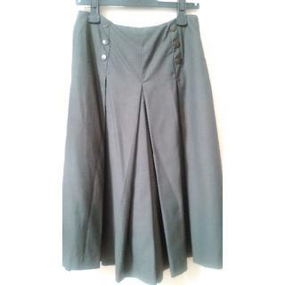 ドゥアルシーヴ(Doux archives)のDoux archivesグレーキュロットスカート中古品(ひざ丈スカート)